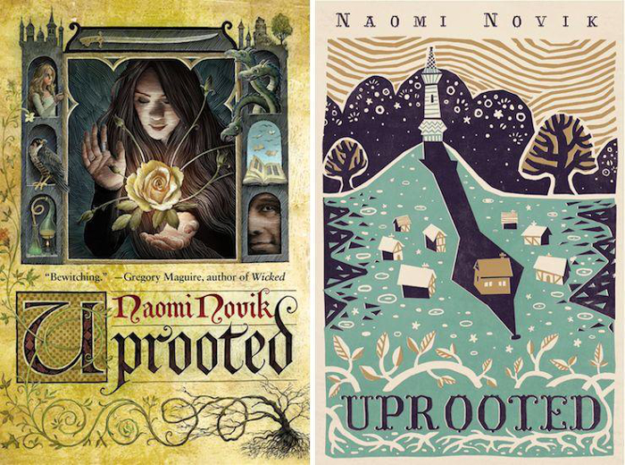 SHE is reading: Uprooted by Naomi Novik –